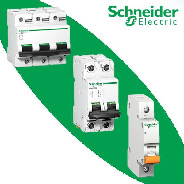 Модульные автоматические выключатели Schneider
