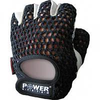 Перчатки для фитнеса и тяжелой атлетики Power System Basic PS-2100 M Black