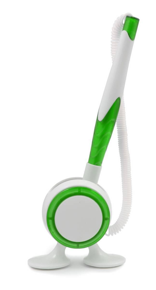 Ручка ber6100 пластиковая, зеленая, от 100 шт
