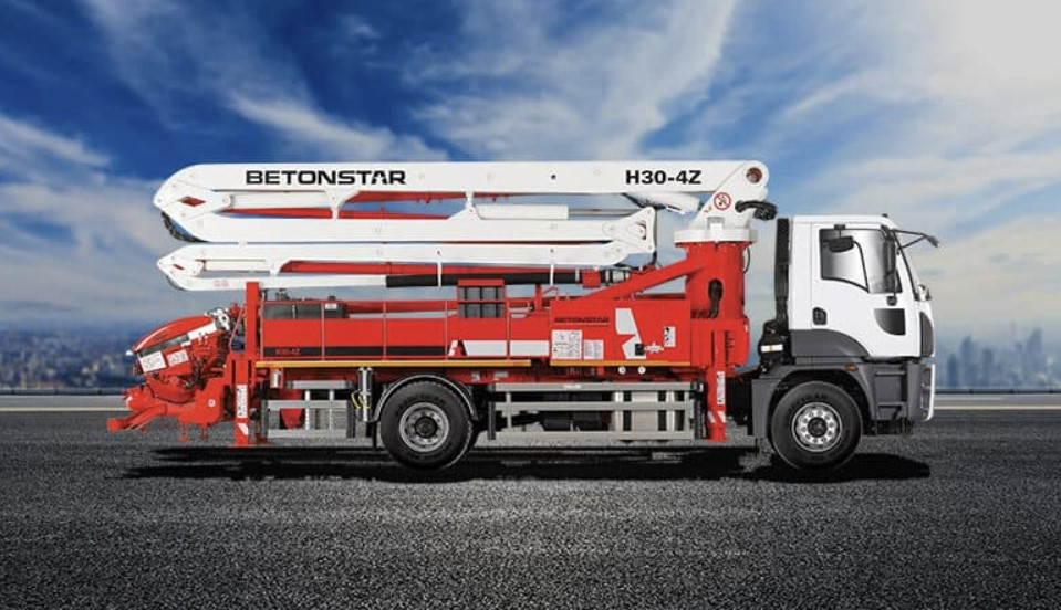 Автобетононасос Betonstar BST 30.90 - 4Z