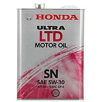 Honda 5W30 ULTRA LTD SN 4L оригинальное моторное масло