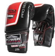 Перчатки снарядные Power System PS 5003 Bag Gloves Storm L Black/Red, фото 1