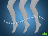 Однотонные белые колготки для детей (Мисюренко) р.22 (140-146 см)