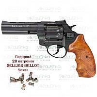 "Револьвер флобера Stalker S 4.5"" wood ZST45W"
