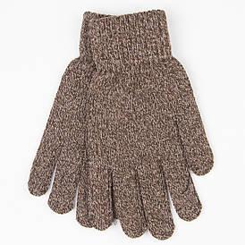 Мужские вязаные зимние перчатки с начесом № 18-3-16