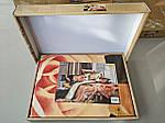 Комплект постельного белья ELWAY (Польша) 3D LUX Сатин Евро Подарочная упаковка (191), фото 2