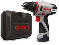 Аккумуляторный шуруповерт Crown Ct21072hx-2 BMC