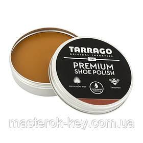 Крем-паста для обуви Tarrago Premium Shoe Polish 50 мл цвет Светло-коричневый (29)