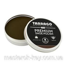 Крем-паста для обуви Tarrago Premium Shoe Polish 50 мл цвет Средне-коричневый (39)