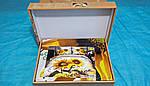 Комплект постельного белья ELWAY (Польша) 3D LUX Сатин Евро Подарочная упаковка (326), фото 2