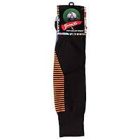 Гетры детские/подросток, терилен+эластан, махровый носок, черный (F15BL), фото 1