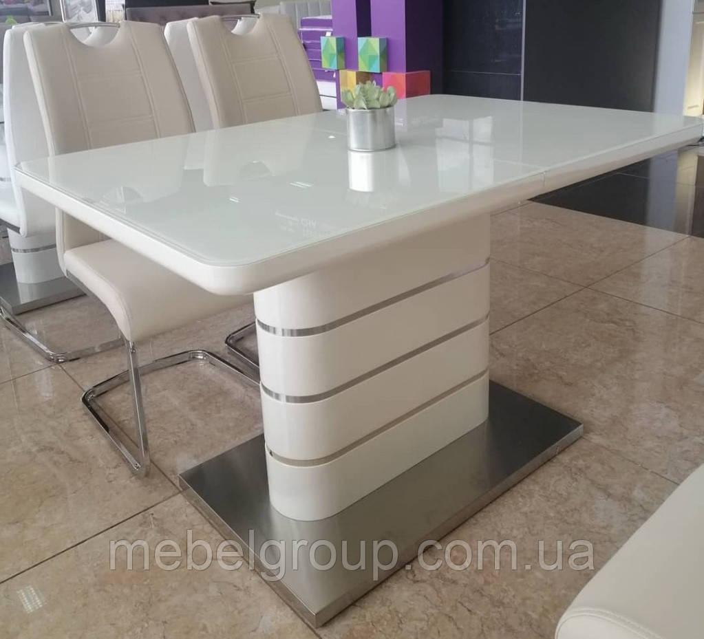 Стіл ТМ 52-1 білий 120/160x80