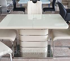Стіл ТМ 52-1 білий 120/160x80, фото 2