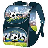 Ортопедический рюкзак для мальчика Smile Футбольное поле ранец-короб