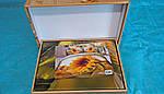 Комплект постельного белья ELWAY (Польша) 3D LUX Сатин Евро Подарочная упаковка (345), фото 2