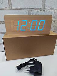 Часы настольные дерево VST-865 (бежевый)