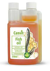 Комплекс Омега-3 жирных кислот Canvit Fish Oil для собак 250 мл.