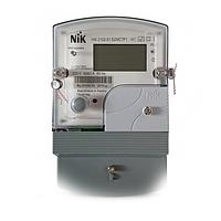 Лічильник електроенергії однофазний багатотарифний NIK 2102-01.Е2МСТР1 5(60)A
