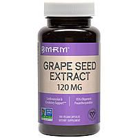 Экстракт виноградных косточек (Grape Seed), MRM, 120 мг, 100 кап., фото 1