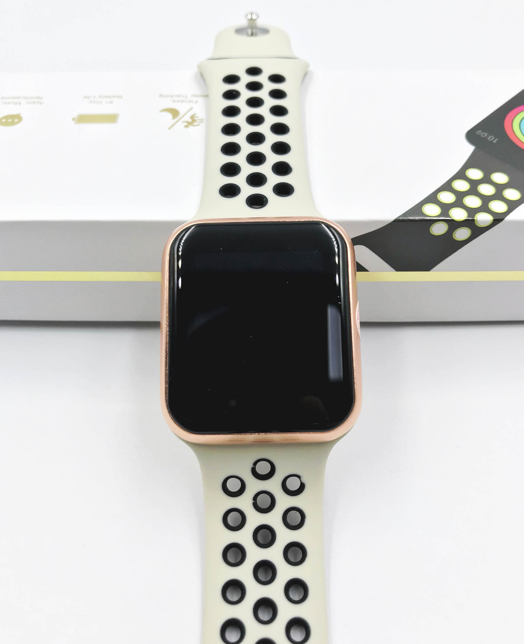 UWatch F8S Black + Gold