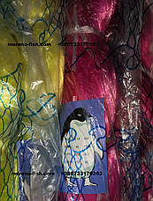 Сетеполотно Пингвин ячейка 80\ леска 0,18 \75*150\  сетепластина Korean Pinguin, фото 3