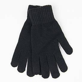 Оптом мужские вязаные зимние перчатки с начесом № 18-3-19