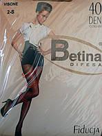 Капроновые колготки Betina Difesa 40 Den. Nero. Размер 3.