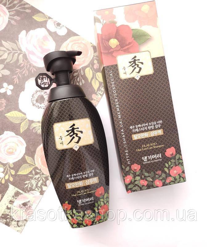 Шампунь против выпадения волос Daeng Gi Meo Ri Dlaе Soo Anti-Hair Loss Shampoo 400ml