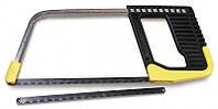 Ножовка по металлу 150мм мини рамочная, с пластиковой ручкой + запасное полотно