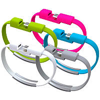 USB браслет переходник адаптер (USB - Micro USB), фото 1