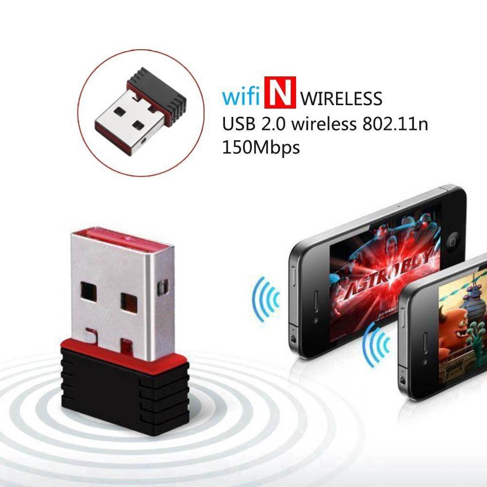 Адаптер Wi-Fi USB LV-UW01 802.11N 300 Mbps