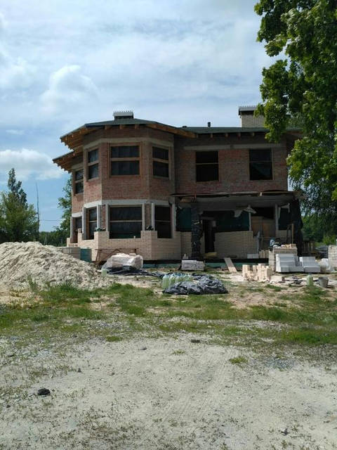 Двух этажный дом в Харькове, проектирование и строительство!  2