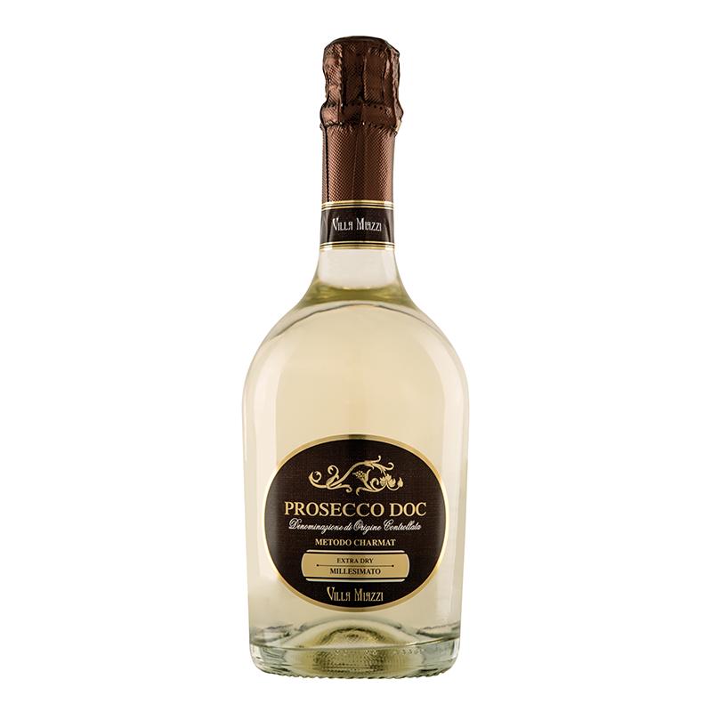 Вино белое игристое Prosecco D.O.C. Treviso Villa Miazzi 0,7l