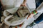 Кофе свежеобжаренный молотый арабика Бразилия Сантос, фото 3