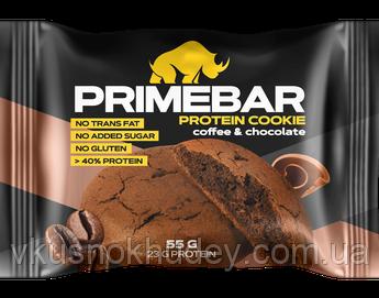 Печиво високобілкове PRIMEBAR Кава-Шоколад (55 грам)