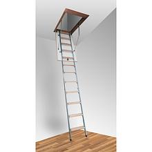Комбіновані сходи на горище Altavilla Pino Termo Metal 4S