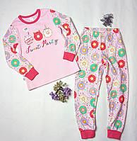 """Пижама для девочки  из хлопка """"Сладкая жизнь"""" 104301"""