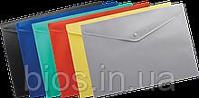 Папка-конверт А4 на кнопці JOBMAX BM.3925-01