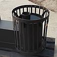 Печь для бани Бочка 15 м³ с выносом и стеклом, фото 3