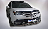 Защита переднего бампера (ус двойной) Acura MDX (2006-2013)