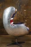Дизайнерское кресло Egg Aviator British designed by Arne Jacobsen, фото 2