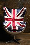 Дизайнерское кресло Egg Aviator British designed by Arne Jacobsen, фото 3