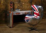 Дизайнерское кресло Egg Aviator British designed by Arne Jacobsen, фото 4