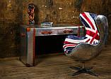 Дизайнерское кресло Egg Aviator British designed by Arne Jacobsen, фото 5