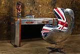Дизайнерское кресло Egg Aviator British designed by Arne Jacobsen, фото 6