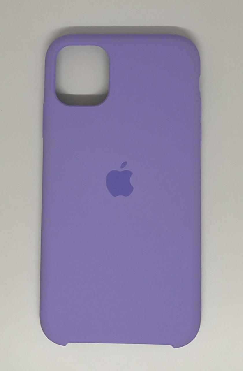 "Чехол Silicon iPhone 11 - ""Сирень №41"""