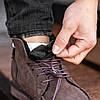 """Зимние ботинки мужские с мехом South Flip """"Коричневые"""", фото 2"""