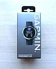 Смарт-годинник Garmin Forerunner 645 Black with Stainless Hardware з Чорним Ремінцем, фото 4