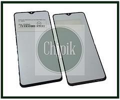 Стекло для переклейки дисплея Xiaomi Redmi Note 8 Pro, черное