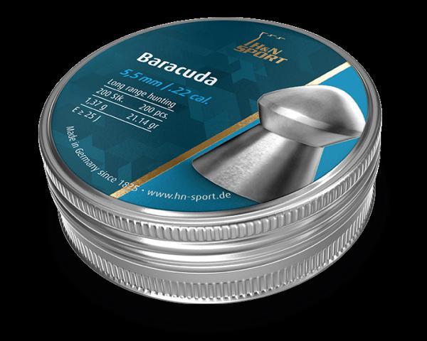 Кулі H&N Baracuda 5,5 мм 1,37 г (200 шт.)